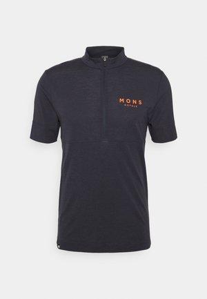 CADENCE HALF ZIP T - T-Shirt print - iron