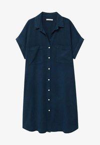 Violeta by Mango - UVA - Košilové šaty - dunkles marineblau - 3