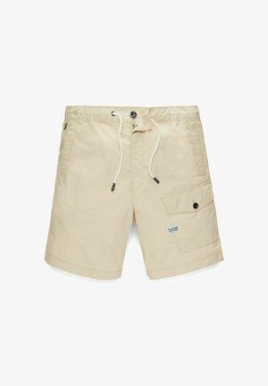 FRONT POCKET SPORT - Shorts - beige