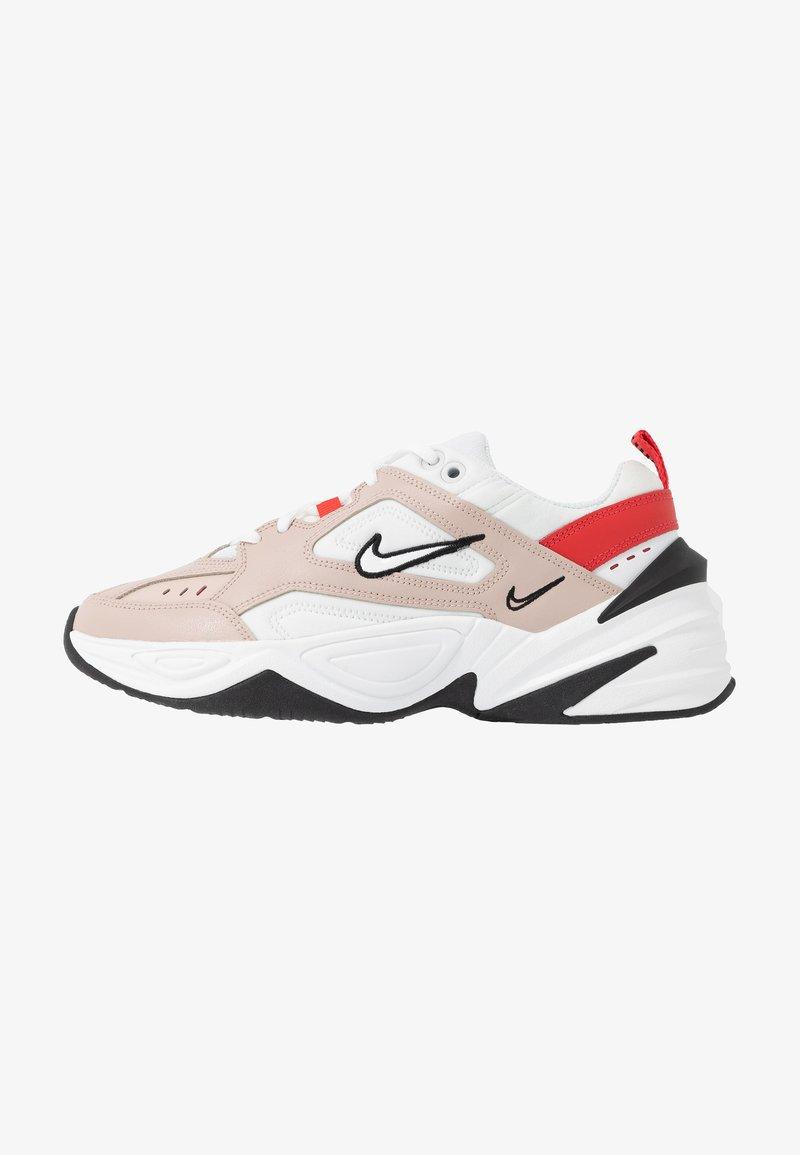 té regalo Expresión  Nike Sportswear M2K TEKNO - Trainers - fossil stone/summit white/track  red/black/oracle aqua/stone - Zalando.co.uk