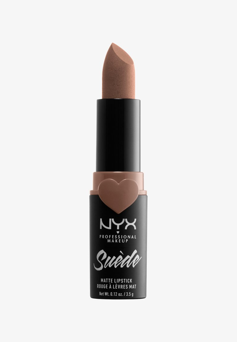 Nyx Professional Makeup - SUEDE MATTE LIPSTICK - Lipstick - 35 downtown