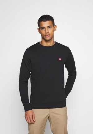 JJEBADGE CREW NECK  - Sweatshirt - black