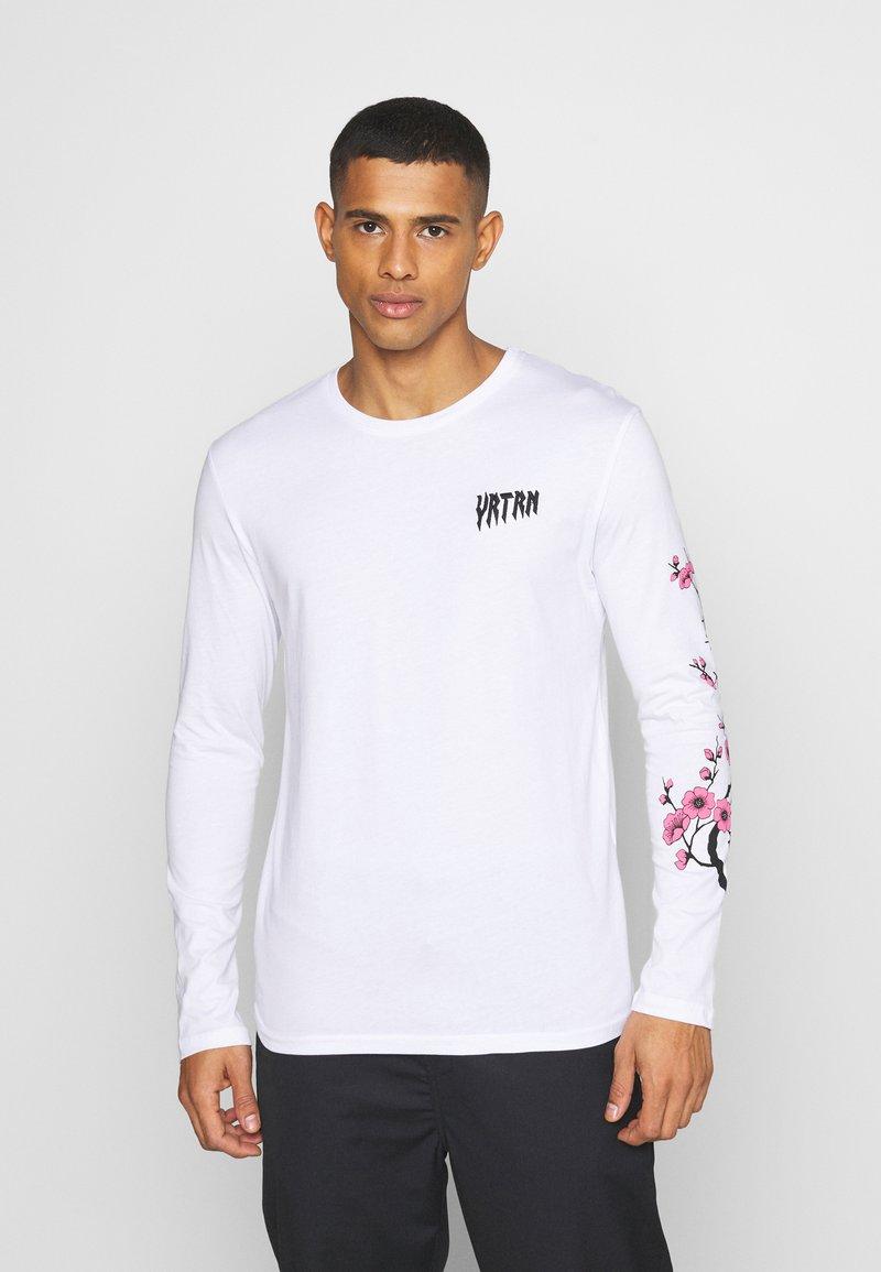 YOURTURN - UNISEX - Long sleeved top - white
