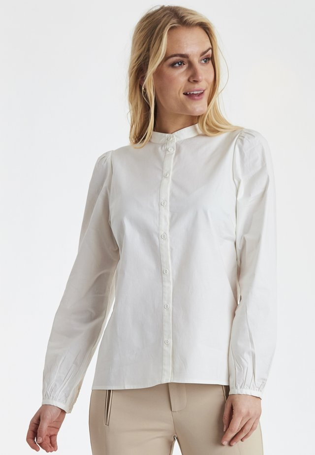DRHELLA - Button-down blouse - white