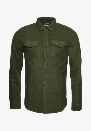 Shirt - army moleskin