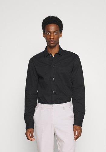 SLHLOOSETIVAN  - Camicia elegante - black