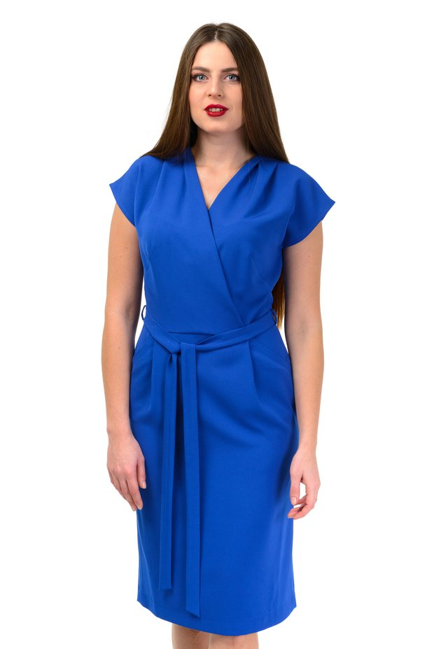 ELECTRIC - Korte jurk - blue