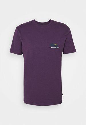 REFLECT TEE - Print T-shirt - purple plumeria