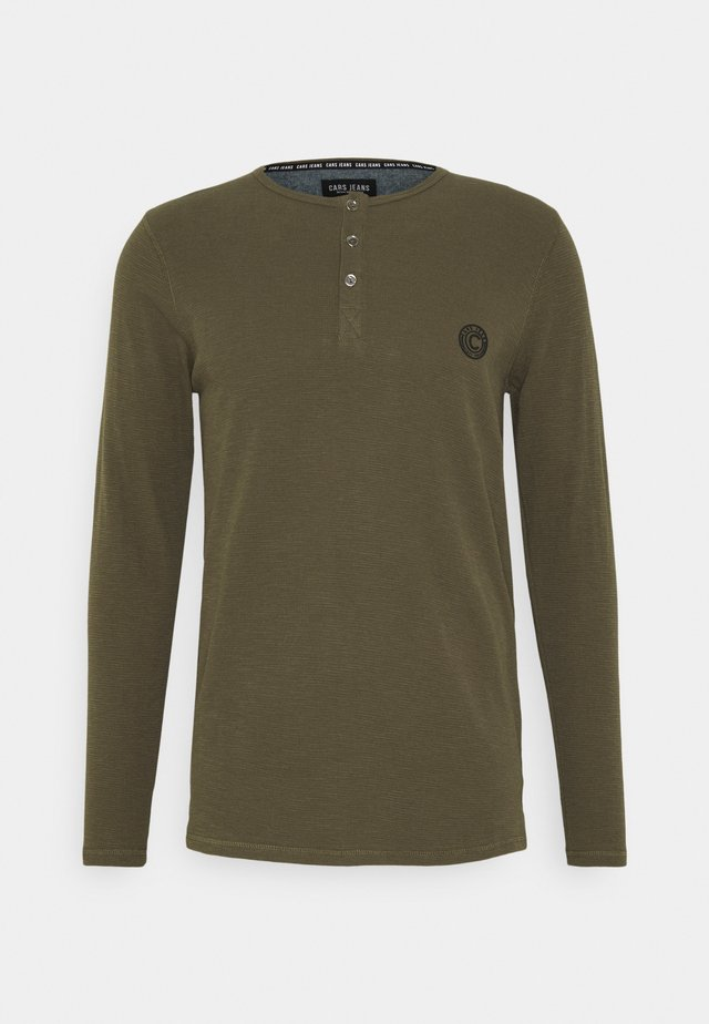 BREND - Long sleeved top - army
