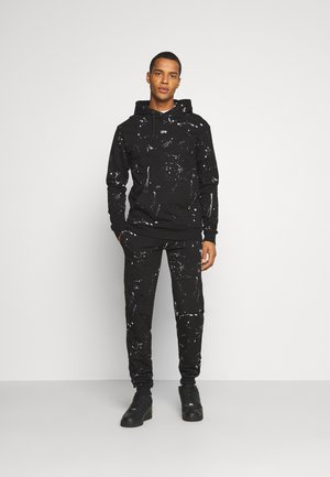 PAINT SPLAT TRACKSUIT SET - Tracksuit - black