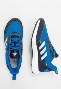 adidas Performance - RAPIDABOOST RUNNING SHOES - Hardloopschoenen neutraal - glow blue/sky tint/legend ink - 0