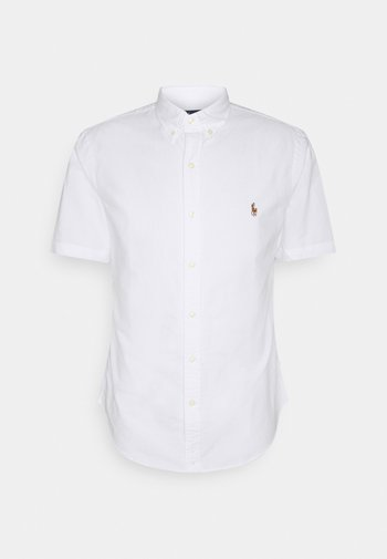 SLIM FIT OXFORD SHIRT - Shirt - white