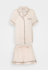 Anna Field - AMANDA SHORT SLEEVE PJ SET  - Pigiama - gold - 0