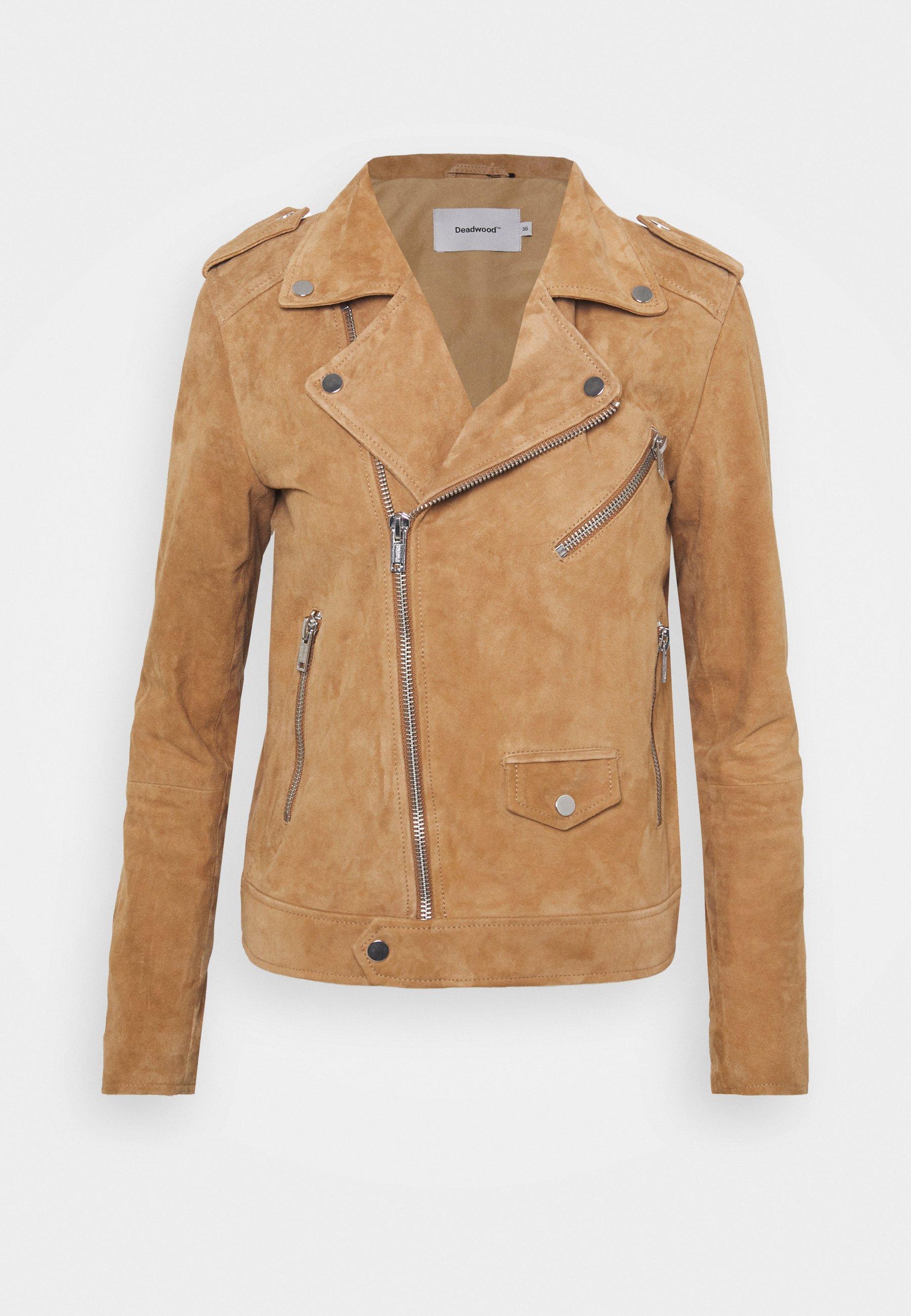 Women RIVER - Leather jacket