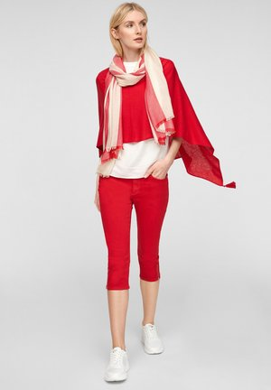 Scarf - red stripes