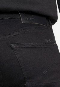 G-Star - 3301 SLIM FIT - Slim fit jeans - elto nero black superstretch/pitch black - 4