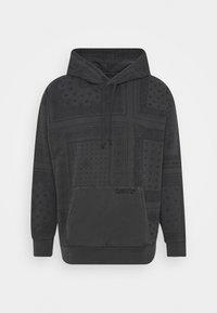 Levi's® - BANDANA POP OVER HOODIE UNISEX - Sweatshirt - blacks - 3