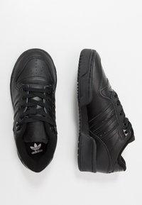 adidas Originals - RIVALRY - Sneakers - core black/footwear white - 0