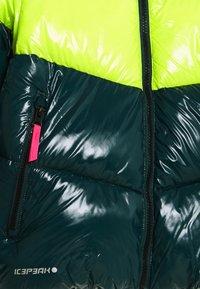 Icepeak - LAMONI UNISEX - Snowboard jacket - antique green - 2