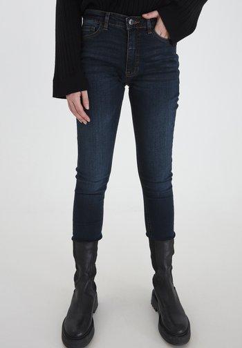 IHTWIGGY LULU - Jeans Skinny Fit - dark blue