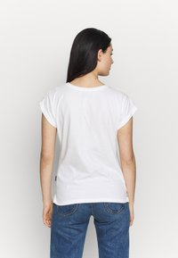 Dedicated - MYSEN HAPPINESS - T-shirt con stampa - offwhite - 2