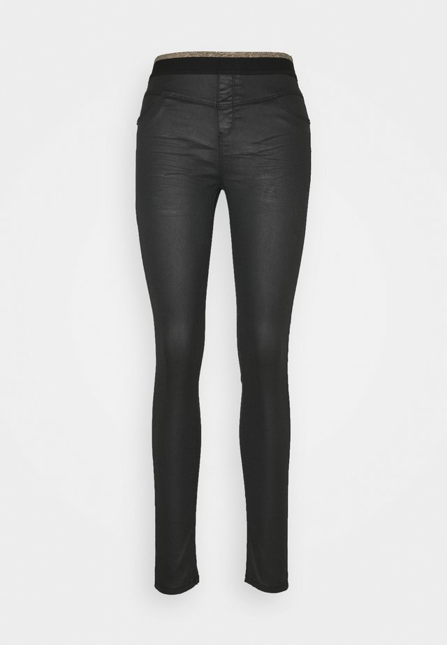 SABLE - Jeansy Skinny Fit - black