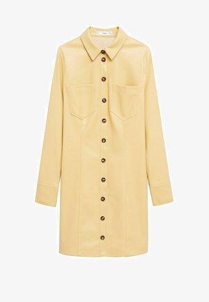 NASTIA - Skjortklänning - giallo pastello