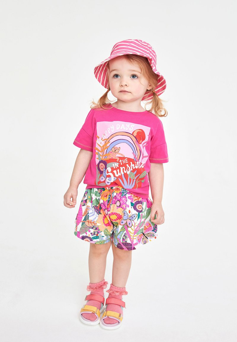 Next - TROPICAL CO-ORD - Shorts - pink