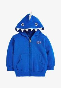 Next - Sweater met rits - blue - 0