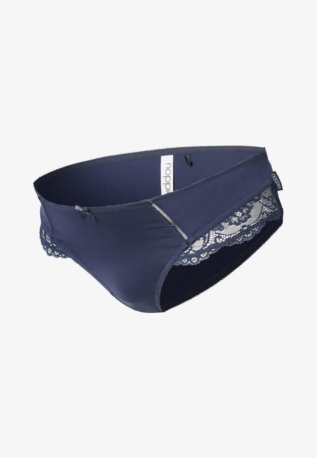 MICRO LACE - Slip - dark blue