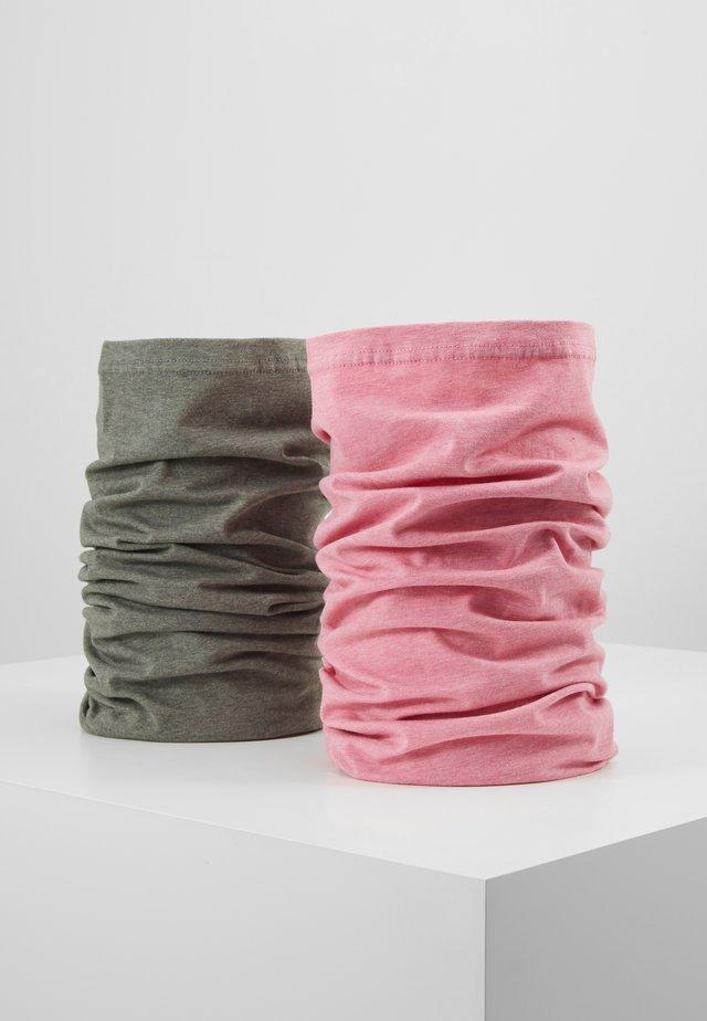 ZAUBERTUCH 2 PACK - Scaldacollo - pink/grey