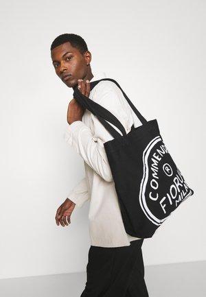 ILLUSTRATED COMMENDED TOTE BAG UNISEX - Tote bag - black