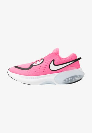 JOYRIDE DUAL RUN - Neutral running shoes - pink glow/black/white/clear