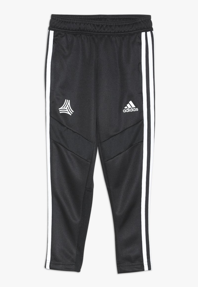 adidas Performance - TAN PANT  - Tracksuit bottoms - black/white