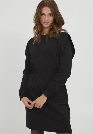 BYSILLANA DRESS - Denní šaty - black denim