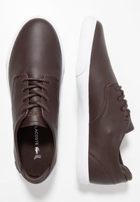 Lacoste - ESPARRE - Trainers - dark brown/white - 1