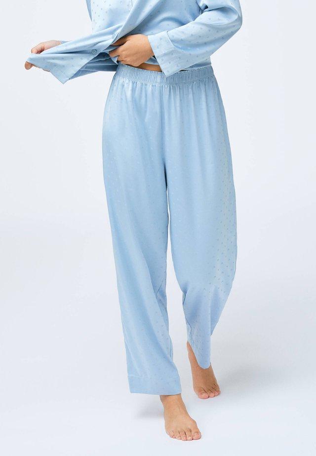 HEART - Nattøj bukser - light blue