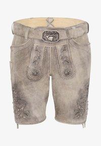 Spieth & Wensky - PETERSBERG - Leather trousers - braun - 3