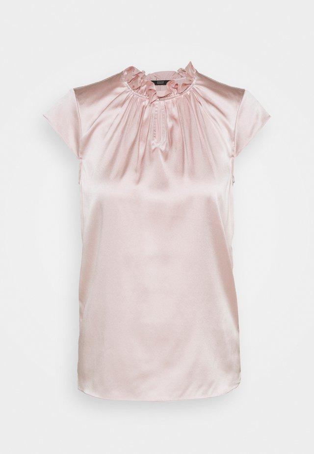 SYLVIE LUXURY RUFFLE - Blouse - soft rose