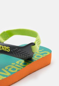 Havaianas - LOGOMANIA UNISEX - T-bar sandals - begonia orange - 5