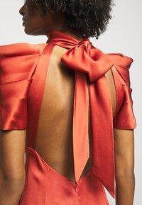 Temperley London - ANITA GOWN - Occasion wear - dark amber - 5