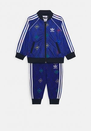 SET  - Huvtröja med dragkedja - royal blue/collegiate navy/multicolor
