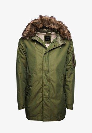 Winter coat - washed khaki