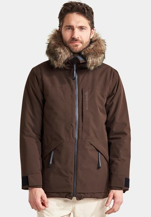 LASSE - Parka - coffe brown