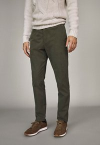 Massimo Dutti - Trousers - brown - 0