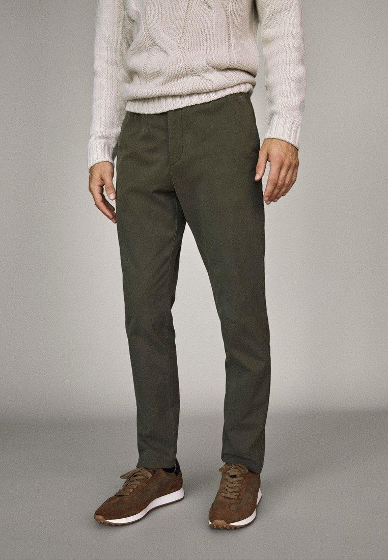 Massimo Dutti - Trousers - brown