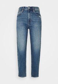 GAP - BARREL - Jeans Tapered Fit - dark indigo - 3