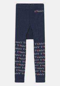 Tommy Hilfiger - BABY 2 PACK UNISEX - Leggings - Stockings - light grey melange - 2