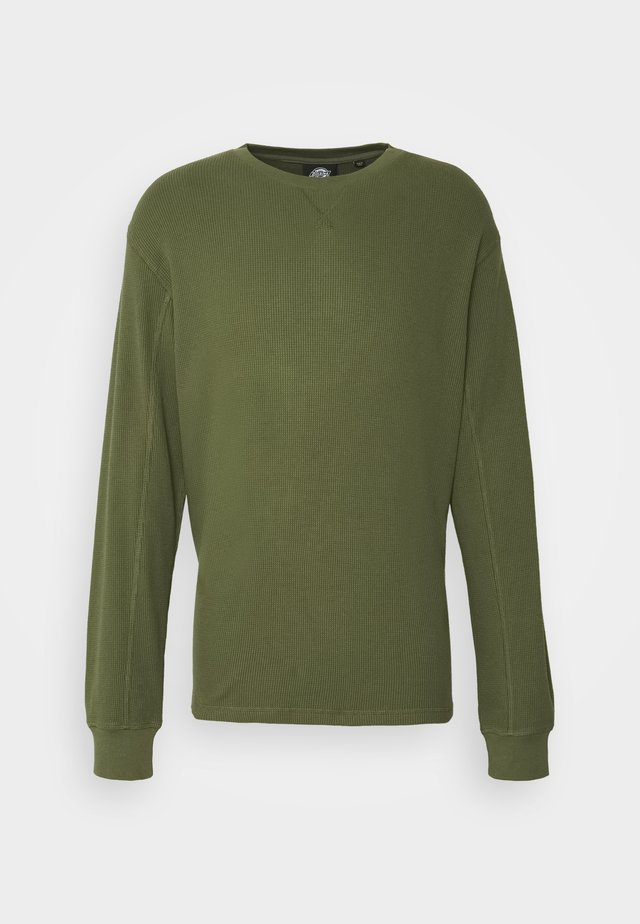 ZWOLLE - Strickpullover - army green