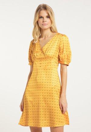 Vestito estivo - mustard yellow
